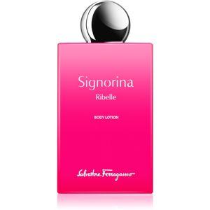 Salvatore Ferragamo Signorina Ribelle tělové mléko pro ženy 200 ml