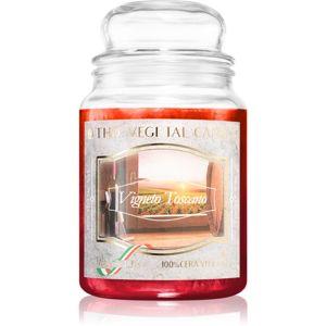 THD Vegetal Vigneto Toscano vonná svíčka 600 g