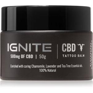 Ignite CBD Camomile, Lavender & Tea Tree 500mg pečující balzám na čerstvé tetování 50 ml