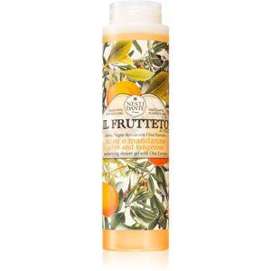 Nesti Dante Il Frutteto Olive and Tangerine sprchový gel a bublinková koupel 300 ml