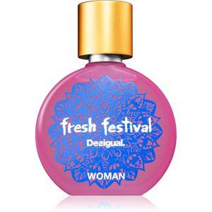 Desigual Fresh Festival toaletní voda pro ženy 50 ml