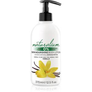 Naturalium Fruit Pleasure Vanilla vyživující tělové mléko 370 ml