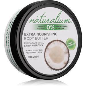 Naturalium Fruit Pleasure Coconut vyživující tělové máslo 200 ml