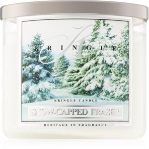 Kringle Candle Snow Capped Fraser vonná svíčka I. 411 g