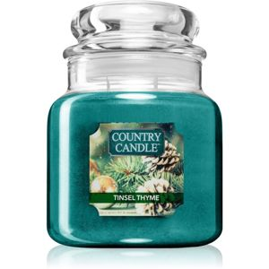 Country Candle Tinsel Thyme vonná svíčka 453 g