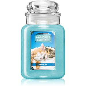 Country Candle Fresh Air Kitten vonná svíčka 680 g