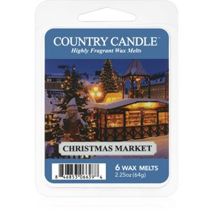 Country Candle Christmas Market vosk do aromalampy 64 g