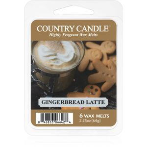 Country Candle Gingerbread Latte vosk do aromalampy 64 g