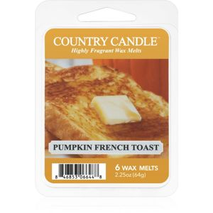 Country Candle Pumpkin & French Toast vosk do aromalampy 64 g