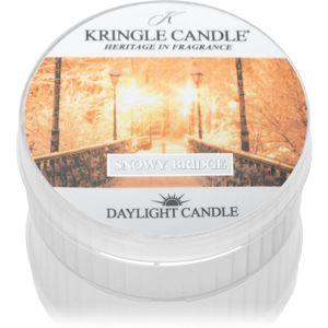 Kringle Candle Snowy Bridge čajová svíčka 42 g