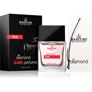 SANTINI Cosmetic Diamond Red vůně do auta 50 ml