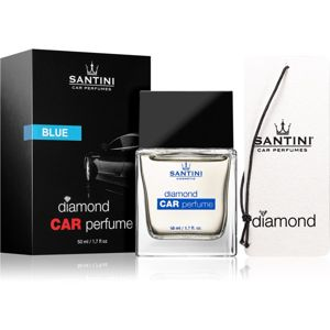 SANTINI Cosmetic Diamond Blue vůně do auta 50 ml