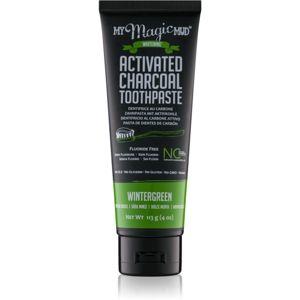 My Magic Mud Activated Charcoal bělicí zubní pasta s aktivním uhlím příchuť Wintergreen 113 g