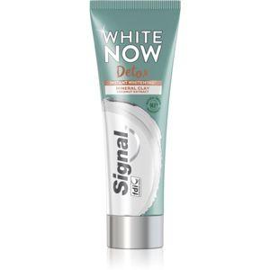 Signal White Now Detox Coconut bělicí zubní pasta 75 ml