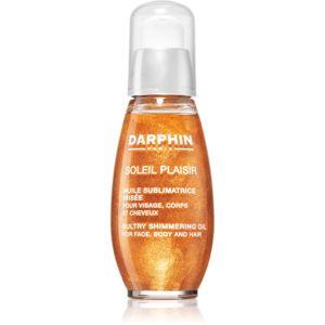 Darphin Soleil Plaisir multifunkční suchý olej se třpytkami na obličej, tělo a vlasy 50 ml