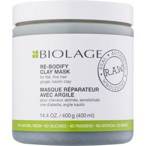 Biolage R.A.W. Uplift jílová maska pro jemné a zplihlé vlasy bez parabenů a silikonů 400 ml