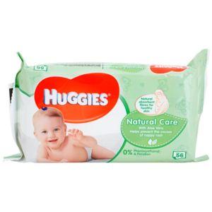 Huggies Natural Care čisticí ubrousky s aloe vera 56 ks