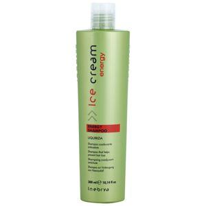 Inebrya Ice Cream Energy šampon proti vypadávání vlasů 300 ml
