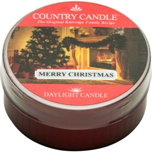 Country Candle Merry Christmas čajová svíčka 42 g
