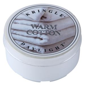 Kringle Candle Warm Cotton čajová svíčka 35 g