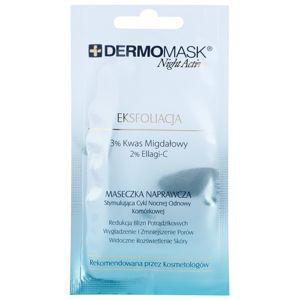 L'biotica DermoMask Night Active exfoliační maska pro obnovu povrchu pleti 12 ml