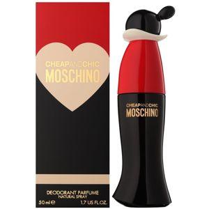 Moschino Cheap & Chic deodorant s rozprašovačem pro ženy 50 ml