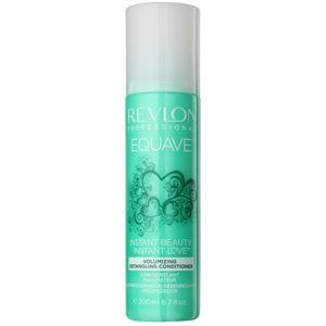 Revlon Professional Equave Volumizing bezoplachový kondicionér ve spreji pro jemné vlasy 200 ml