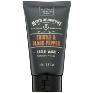 Scottish Fine Soaps Men's Grooming Thistle & Black Pepper mycí gel na obličej 150 ml