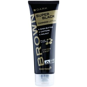 Tannymaxx Brown Super Black Dark opalovací krém do solária 125 ml